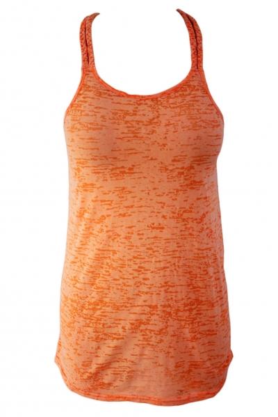 orange-braided-racerback-burnout-beach-dress