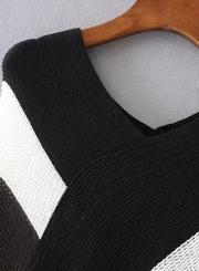 V Neck Tassel Cape Shawls Batwing Knit Sweater Cloak