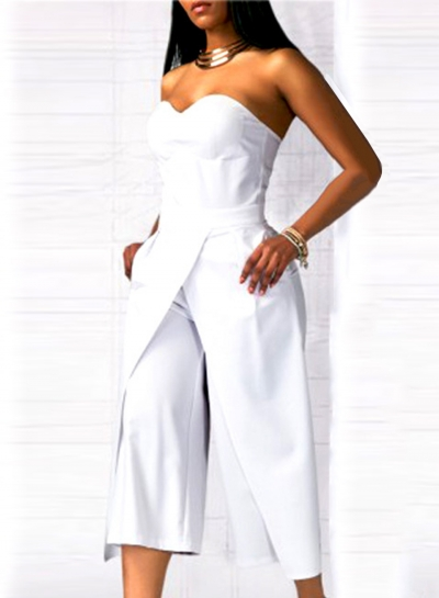 7b81d283a38 Women s Solid Strapless Wide Leg Cropped Jumpsuit - STYLESIMO.com