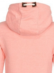 Women's Long Sleeve Pullover Fleece Drawstring Hoodie