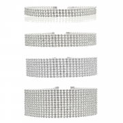 Women's Rhinestone Party Choker Necklace