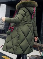 Faux Fur Tim Hooded Down Coat