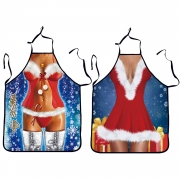 Fashion Sexy Halter Neck Christmas Backless Apron