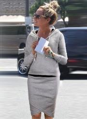 Women's Fashion 2 Piece Solid Hoodie Irreuglar Skirt Set Dress Outfit
