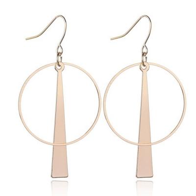 Fashion Novelty Alloy Circle Round Earrings stylesimo.com