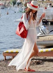Cover up Beachwear Long Cardigan