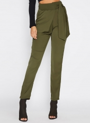 Casual High Waist Pencil Pants