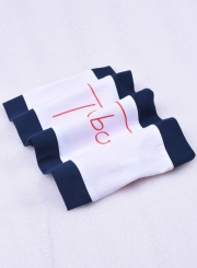 Fashion Letter Printed Bandeau