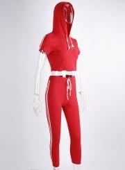 Fashion Skinny 2 Piece Sports Set