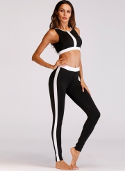 Fashion Two Piece Activewear Skinny Sports Set