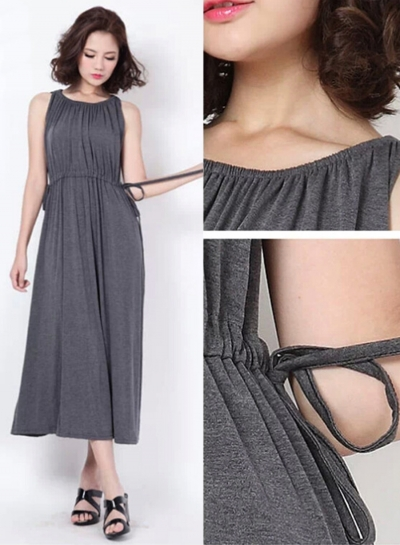 Sleeveless Slim Dress