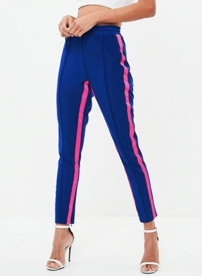 Fashion Casual Patch  Sport Pencil Pants