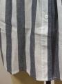 navy-summer-striped-short-sleeve-turn-down-collar-loose-button-down-dress