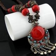 Women's Fashion Bohemian Beads Pendant Necklace