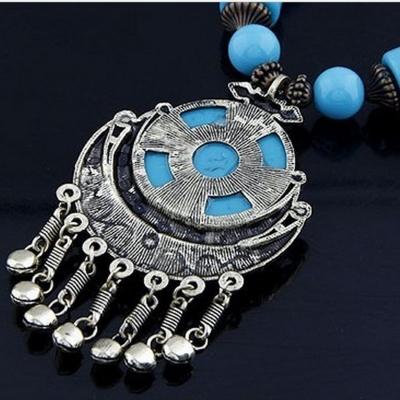 Women's Fashion Bohemian Beads Pendant Necklace stylesimo.com
