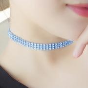 Women's Rhinestone Party Choker Necklace