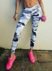 Fashion Camouflage Skinny Yoga Leggings