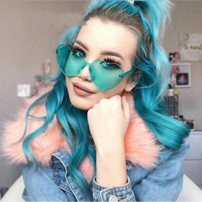 Fashion Love Cute Heart Shape Sunglasses
