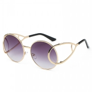 Fashion Hot Celebrity Retro Round Sunglasses