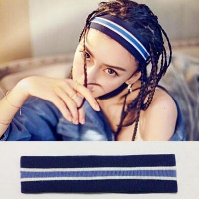 Women's Fashion Striped Headband STYLESIMO.com