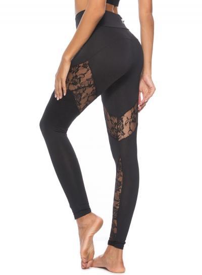 Sexy Slim Spicing Leopard Pattern High Waist Yoga Leggings
