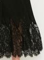 black-sleeveless-elastic-waist-lace-dress-with-tassel